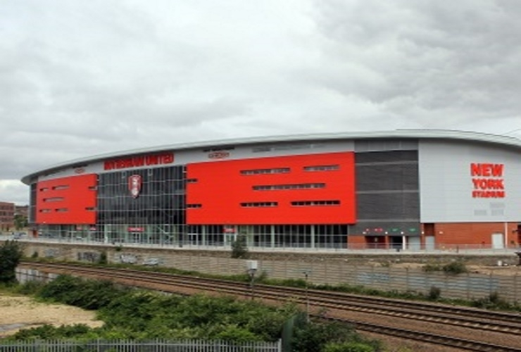 More commercial space snapped up at the New York Stadium....