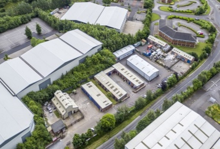Fully-let industrial estate goes from strength to strength....