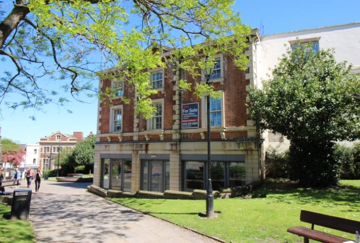 Historic town-centre office building for sale...