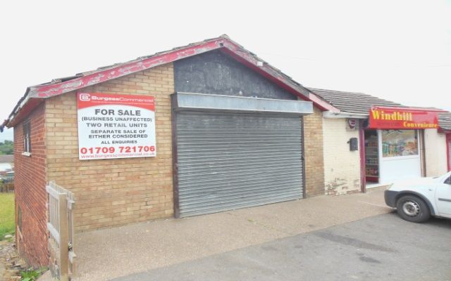 Two retail units for sale (one let)
