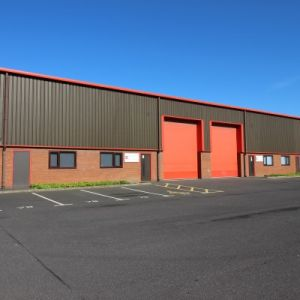 Modern industrial units ideally suitable for trade counter use.