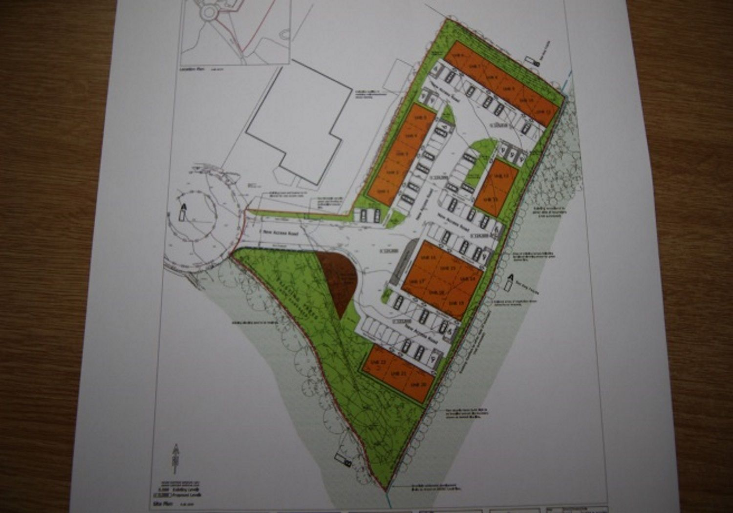 Freehold Development Land in Dronfield.