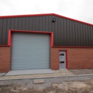 Brand new detached industrial unit to let.