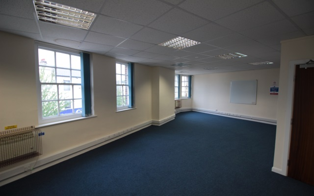 Second Floor offices with potential for alternative uses.