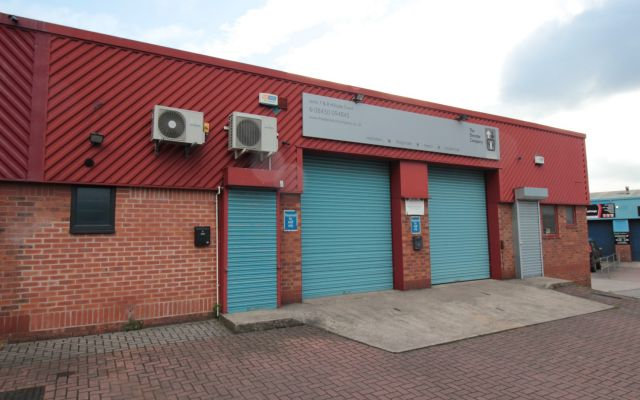 Modern industrial units on a self-contained, secure estate.
