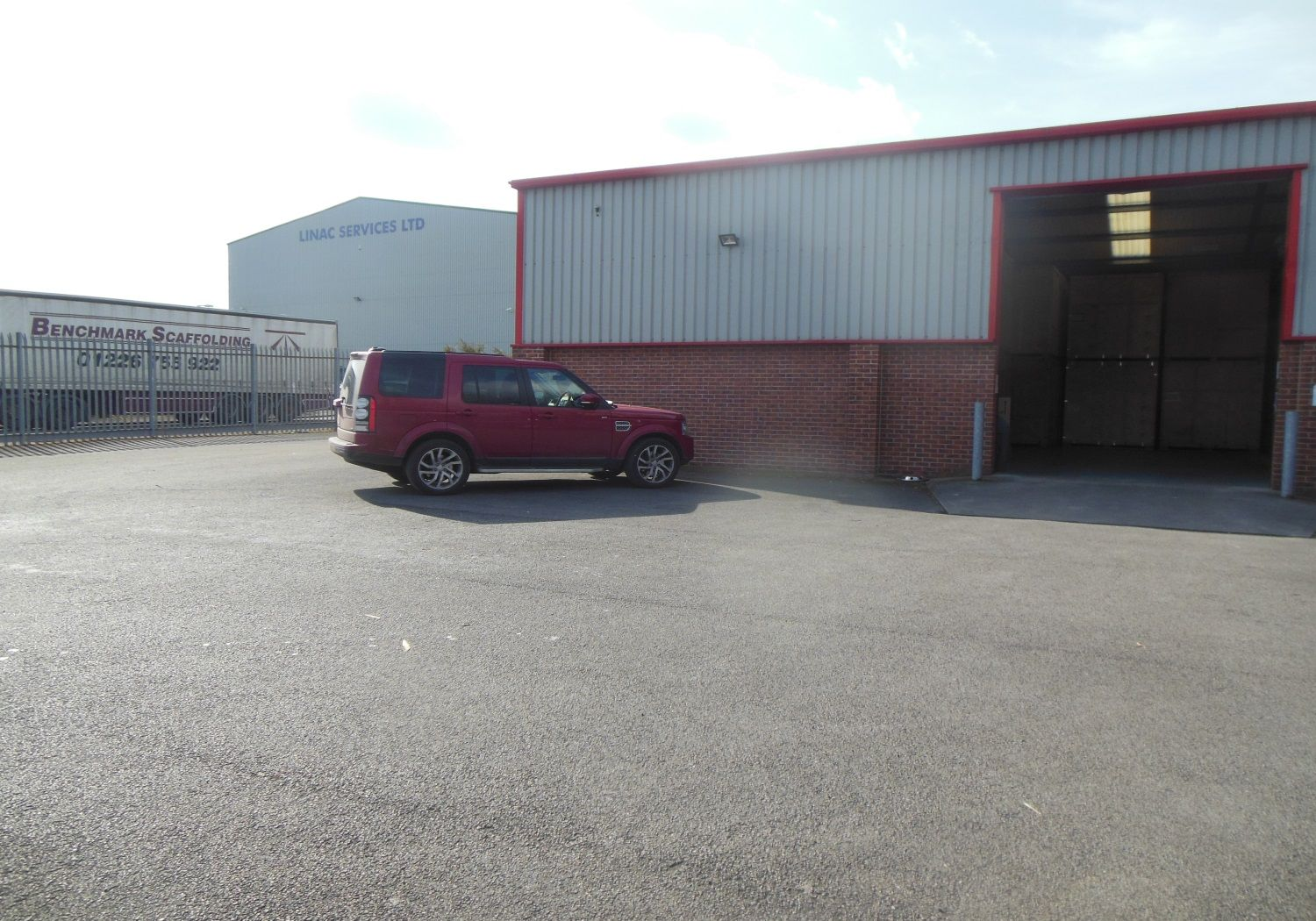 Freehold, modern detached industrial unit.