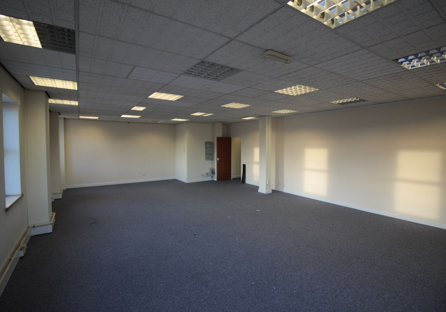 Self-contained first floor offices with 4 parking spaces (can split)