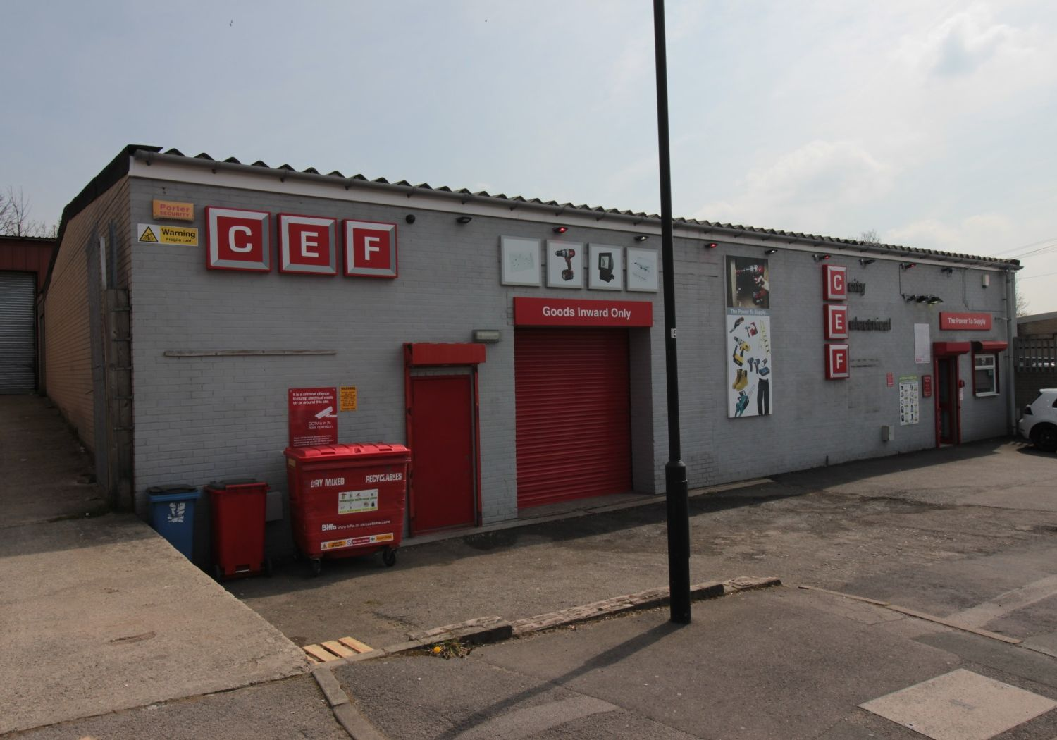 Detached light industrial unit / trade counter.