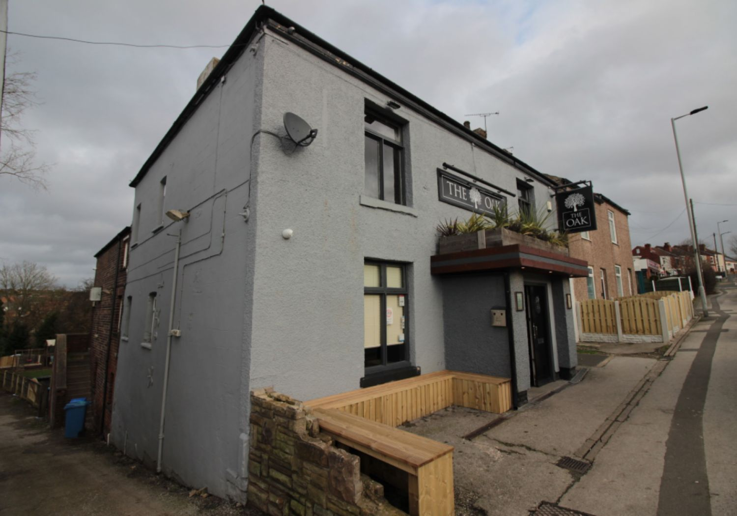 Freehold public house for sale with potential development land.