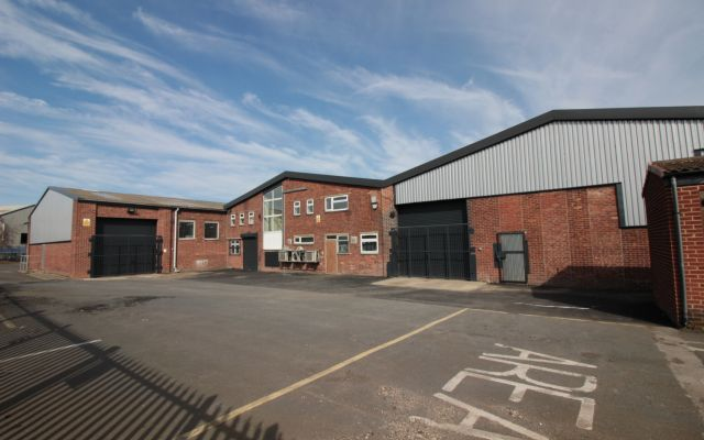Industrial unit to let with secure yard & generous power supply.