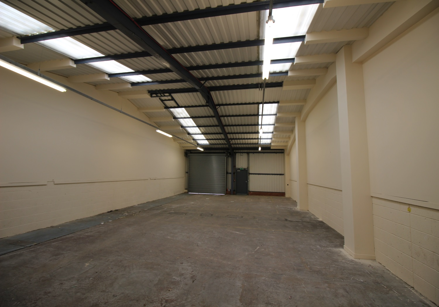 Modern, self-contained & secure industrial estate.