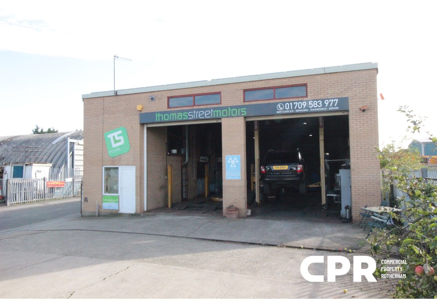 Freehold industrial unit for sale.