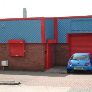 Modern Industrial unit situated on a secure gated development.